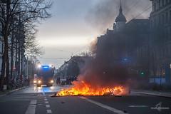 Demotag-Leipzig-Suedvorstadt-011 (zumpe) Tags: demo leipzig südvorstadt barrikaden strasensperren südvostadt polizeistrasensperren le1212