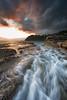 Whale Beach Sunrise (RoosterMan64) Tags: seascape sunrise sydney nsw northernbeaches whalebeach rockshelf