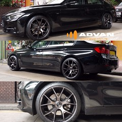 BMW 3-Series with RAYS Homura 2x5S Wheels #bmw #rays #advanshophk #hk #car #cars #wheel #wheels #hongkong #tuning #stylish #custom #lightweight (Advan Shop) Tags: hk cars car wheel hongkong wheels bmw rays custom tuning stylish lightweight advanshophk