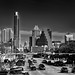 Views of Congress Avenue from SoCo (Black & White)