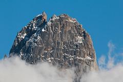 Aiguille des Drus 3754 m (Frdric Fossard) Tags: montagne chamonix cime sommet granit drus massifdumontblanc granddru petitdru aiguilledesdrus couloirnorddesdrus lezdesdrus traversedesdrus facenorddesdrus