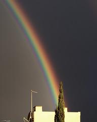 Arc de Sant Martí (Malen Alomar /malenojodoro) Tags: arcoiris paisaje arcdesantmartí