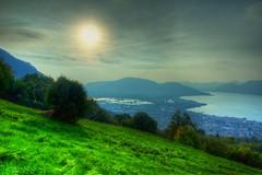 Torbiere del Sebino Sunset (McPeluz ) Tags: lago tramonto natura acqua hdr paesaggio iseo canonef1740mmf4l torbiere filtri polaveno canon70200f28lll robertopeli mcpeluz robertopeliphotography