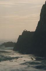 Seal Rock 41, 2015 (Sara J. Lynch) Tags: park sunset lynch beach water birds rock oregon j coast rocks sara waves state seal headlands