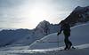 The Road Home (David Roberts 01341) Tags: skiing skitouring skirandonnee alps switzerland suisse italy italia grandsaintbernard offpiste