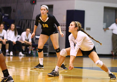 IMG_8371 (SJH Foto) Tags: girls volleyball high school york delone catholic team teen teenager dig bump burst mode