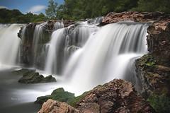 Grand Falls (Pragmatic1111) Tags: outdoors waterfall water falls joplin missouri grandfalls nikon d700 longexposure