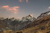 Sunset at ABC (RAKH AKHR) Tags: abc annapurna annapurnabasecamp annapurnabasecamptrek himalayas machhapuchhre nepal sunset mountain