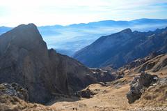Salita al monte Pelf