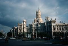 Madrid - Plaza de la Cibeles - Main Post Office (europeIluva) Tags: spain madrid cibeles