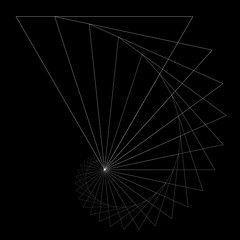 curve (chrisinplymouth) Tags: triangle triangular spiral concentric spirality cw69spiral cw69x square squareformat cw69sq pattern design rotating rotation geometry geometric abstract curve linear