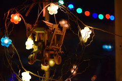 We put the Chrstimas decorations up! (Jean Latteur) Tags: nikon d3300 nikkor 35mm f18 christmas lights home party colours night illuminations