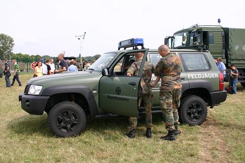 Feldjäger mit Nissan Patrol