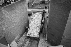 Huge tip truck (obliquepanic) Tags: ec1 fx london nikon nikond810 ymca buildings construction demolition fullframe england unitedkingdom