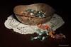 Buon Anno Nuovo - Happy New Year (Ferruccio Zanone) Tags: tavolo caramelle pizzo centrino luce tecnica light painting pennellare