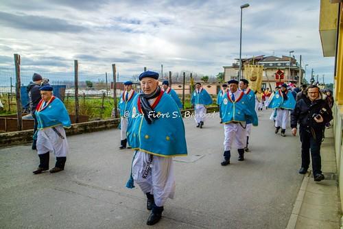 Macerata Campania (CE), 2017, Festa e processione di Sant'Antonio Abate.