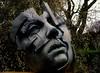 Dark thoughts - Dunkle Gedanken (cammino5) Tags: skulpure sculpture kunst effeldorf dezember 2016 explored