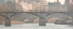 Un dimanche de janvier à Paris... (Pascal_t_ih) Tags: paris france seine pontdesarts sunday light sun sunset sunrise landscape panorama holidays