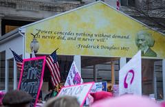 Womens March DC-20170121-TW Meetup _ 20170121 _ KMB_0411 (kevinbarry7) Tags: womensmarch washington dc feminism dump trump protest capital resist mall pence devos love trumps hate