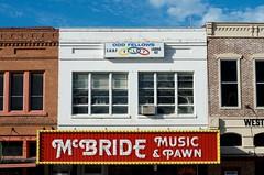 McBride (dangr.dave) Tags: denton tx texas dentoncounty downtown historic architecture mcbride music pawn neon neonsign