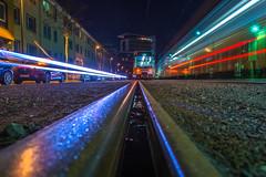 Lightspeed (Moritz Padberg) Tags: lighttrails longexposure düsseldorf dusseldorf rheinbahn