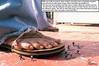 Jessica Alba Goes on the Attack (Red Neptune) Tags: celebrity giantess feet crush sandals flipflops stomp gts shrunkenman shrunkenmen sm