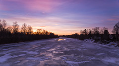 Colourful Sunrise (samiKoo) Tags: sunlight sunrise sky clouds ice reflection morning trees river frozen colourful colorful colours colors nature naturallight naturephotography landscape january snow finland winter photography photo photograph canon 6d 24105mml