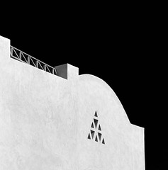 roof (lesley1556) Tags: blackandwhite monochrome rooftop roof sony sonyrx10iii egypt elgouna