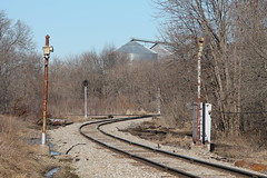 Nora Springs Signals Take 2 (CC 8039) Tags: crip ri ianr trains signals nora springs iowa