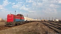 81 0821-4@ Capu Midia (Chirila Alexandru) Tags: ldh1250 locomotiva diesel hidraulica gfr grup feroviar roman ldh cfr caile ferate romane train t rains rail railway