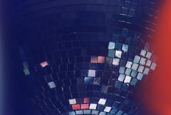 DISCO BALL (OcularEars) Tags: film burn mirror mirrorball disco ball