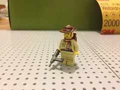 Aussie Coastwatcher/ANZAC (ranger3181) Tags: world 2 two war martin lego pacific explorer australian jungle ww2 sten aussie custom anzac clemens coastwatcher brickarms