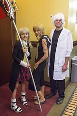 Maka Albarn, Medusa and Stein (vato915) Tags: cosplay frankenstein medusa stein souleater bccc   makaalbarn   bordercitycomiccon bordercitycomiccon2015 bccc2015 bccc15