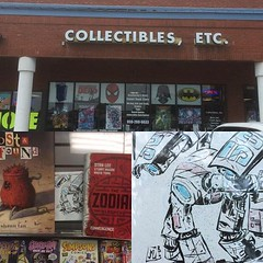 Drop Number 2: Lexington Ky art drop day 2015. At the best comic book shop around. Collectibles etc. (mr jay myers) Tags: 2 art shop ed for book comic day all you lexington ky it drop richmond best number thank your yours link there etc around find collectibles its 2015 at artdrop artdropday mrjaymyers artdropday2015 supportinstagram