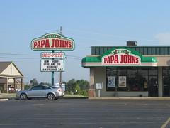 Papa Johns -- Berea, KY (xandai) Tags: retail shopping kentucky ky kentuckyretail