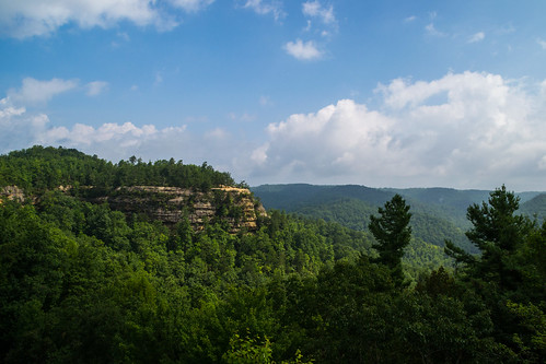 Lookout Point from Natural Bridge