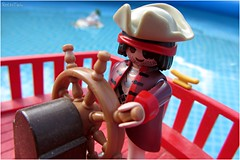 pirate ship (VintageReflection) Tags: from autumn guy scale water pool toy toys boot boat wasser ship im tales box outdoor pirates board herbst bad an adventure plastic deck pirate captain figure corsair session jolly roger schiff arrr spielzeug figur playmobil helm buccaneers pirata pirat buccaneer pirateship swashbuckler 2015 seeruber helmsman korsar piratenschiff 4424 augenklappe lostillusion75 oneeyes retrotwin klicky