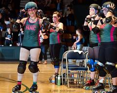 rebels_vs_panic_L3506383 1 (nocklebeast) Tags: ca usa santacruz rollerderby rollergirls zombies vampires skates organicpanic santacruzderbygirls redwoodrebels