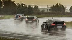 Three Turbo's  ... soooo much win in a picture (Imaginarium 2.1) Tags: wet rain 911 greece porsche 997 gemballa bvs 996turbo 997turbo serresracingcircuit bazilvansinner speedsector bazilvansinnerautomotivephotography
