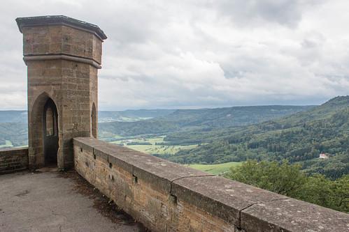 Bastion Schnarrwacht au château de Hohenzollern
