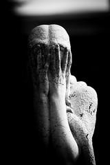 Non v'è amore per la vita senza disperazione di vivere. Albert Camus (thescourse) Tags: bw italy cemeteries milan statue canon italia milano bn graves canondslr biancoenero albertcamus blackandwithe cimiteromonumentale canoniani canonitalia ef135mmf20 canoneos5dmkii eos5dmkii nonvèamoreperlavitasenzadisperazionedivivere