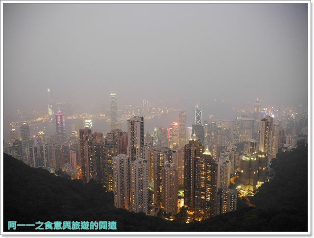 香港旅遊太平山夜景山頂纜車聖約翰座堂凌霄閣摩天台山頂廣場image074