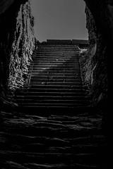 underground (jaylvis29) Tags: portrait bw mer white black monument statue underground noir bretagne compo breizh bateau et blanc eglise capucins blocaus