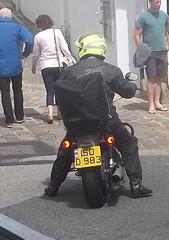 Diplomatic Motorcycle (occama) Tags: uk bike germany cornwall plate number german motorcycle plates registration licence diplomatic