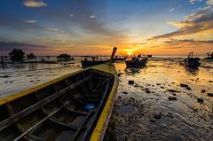 DSC_5804 (rhu dua) Tags: sunset nature yard boat nikon sigma 1020 d7100 gnd4hard raymasters