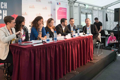 TODAY AT THE WEB SUMMIT THERE WAS A PRESS CONFERENCE HOSTED BY AXELLE LEMAIRE [FRENCH MINISTER RESPONSIBLE FOR DIGITAL AFFAIRS]-109923