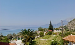 panorama Samos (Fif') Tags: sea mer island see seaside mediterranean aegean greece more balkans griechenland grce balkan le mditerrane 2015 ormos balos ge koumeika koumeikon