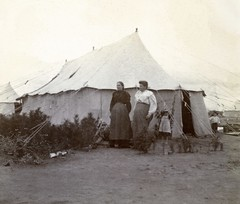 Bloemfontein Camp, c.1901.