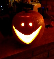 Pumpkin Smiles (L Westy) Tags: halloween pumpkin jackolantern 2015