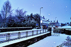Winter morning Kingussie (Fr Paul Hackett) Tags: winter snow kingussie